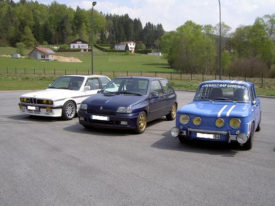 clio williams et bmw hartge